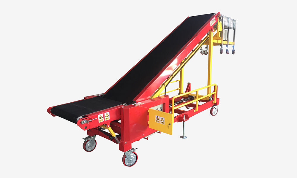Mini Portable Vehicle Loading Conveyor Supplier
