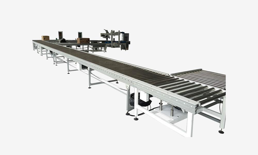 Aluminum Motorized Roller Conveyors