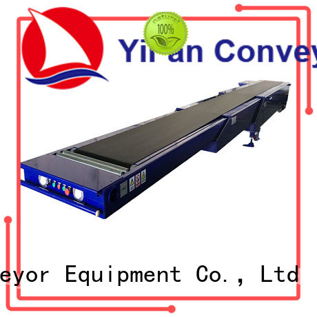 YiFan shop telescopic belt conveyors widely use for seaport