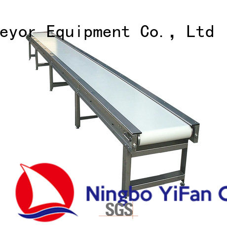 YiFan light conveyor belt manufacturers awarded supplier for logistics filed