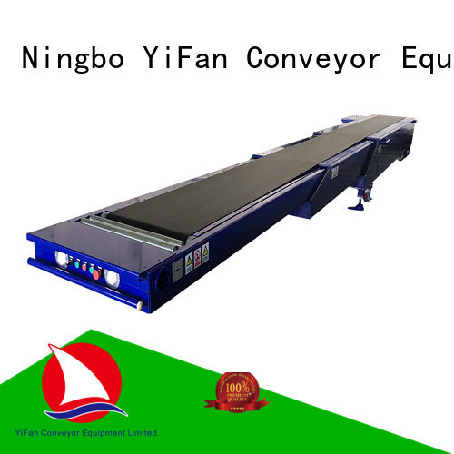 YiFan telescopic telescopic conveyor belt for mineral