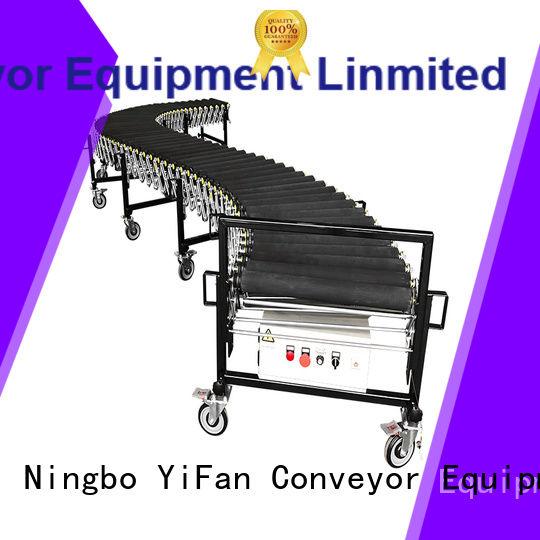 YiFan hot sale powered flexible conveyor manufacturer for dock