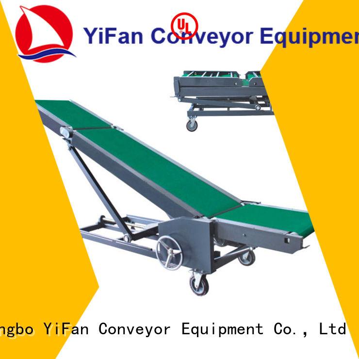 YiFan Professional truck unloader conveyor manufacturer for factory