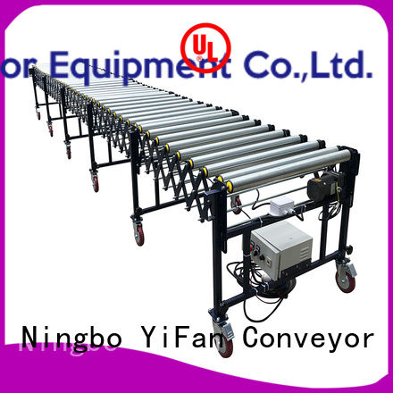 YiFan hot sale automated flexible conveyor manufacturer for dock