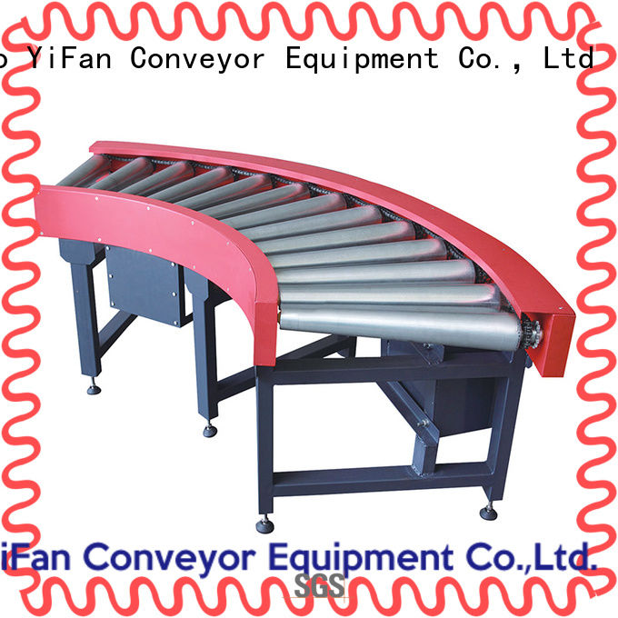 YiFan steel roller conveyor suppliers for carton transfer