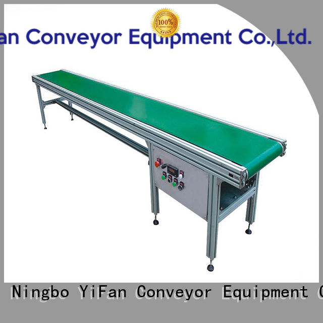 YiFan modular belt conveyor manufacturer awarded supplier for light industry