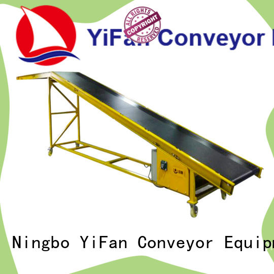 YiFan system truck loading belt conveyor China supplier for warehouse