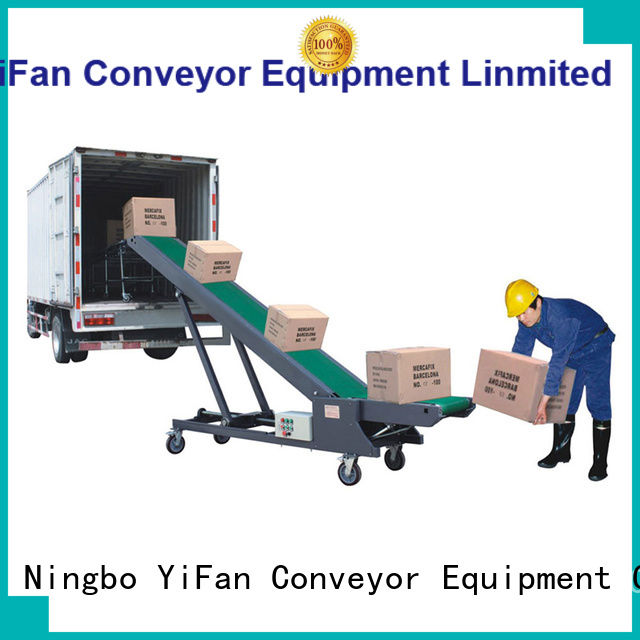 YiFan buy automated conveyor systems online for dock