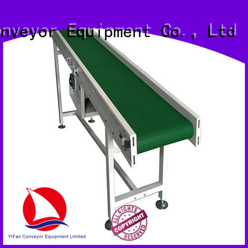 YiFan most popular conveyor belt manufacturers for packaging machine