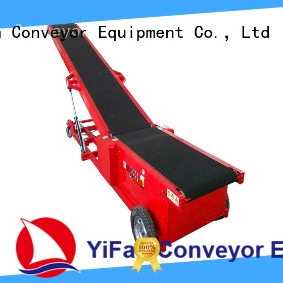 YiFan Professional truck unloading manufacturer for dock