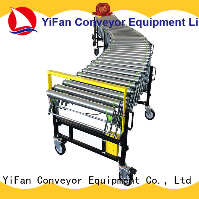 YiFan low cost flexible roller conveyor systems factory for warehouse