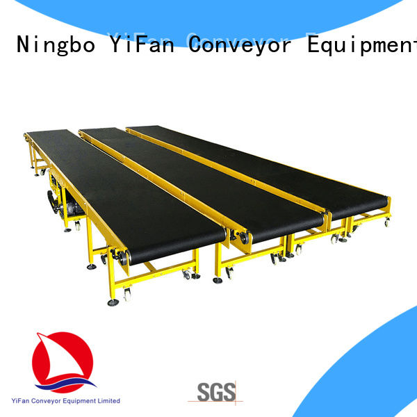 YiFan 2019 new designed rubber conveyor belt manufacturers with good reputation for light industry