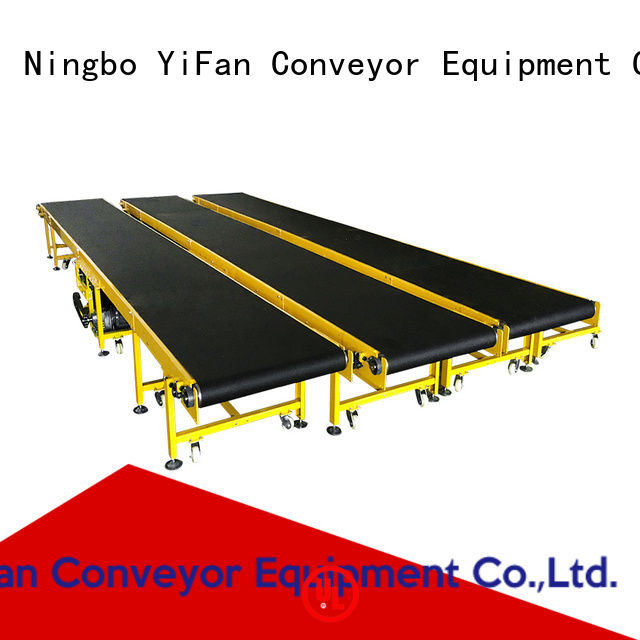 YiFan most popular conveyor belt system manufacturers awarded supplier for daily chemical industry