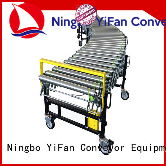 hot sale flexible expandable conveyors belt quick transaction for harbor