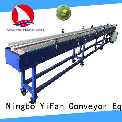 YiFan modular slat conveyor for food industry