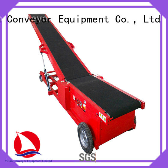 YiFan 20ft truck unloader conveyor China supplier for dock