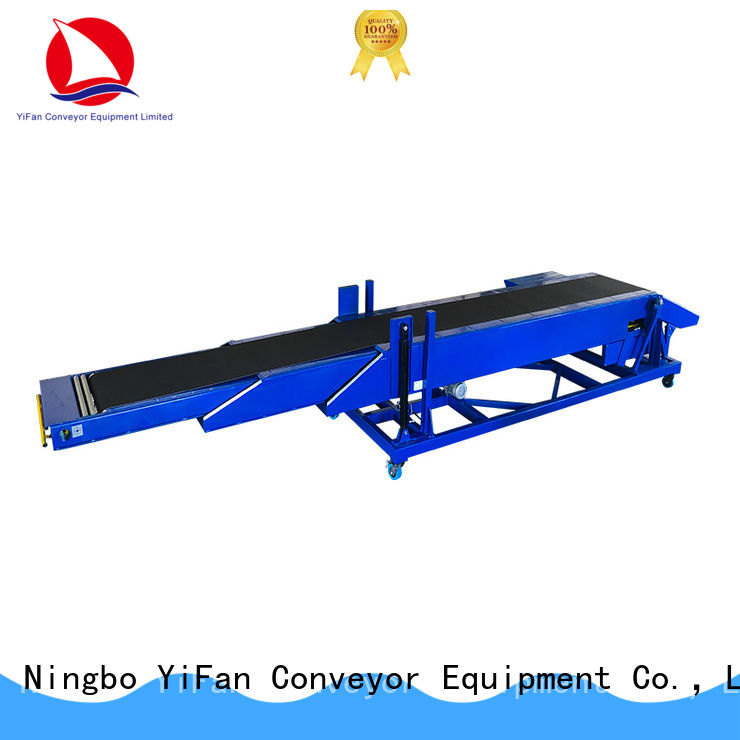 YiFan loading conveyor belt system competitive price for storehouse