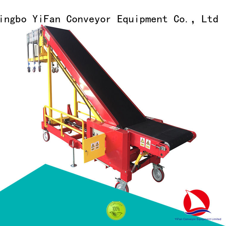 YiFan simple truck loading conveyors chinese manufacturer for warehouse
