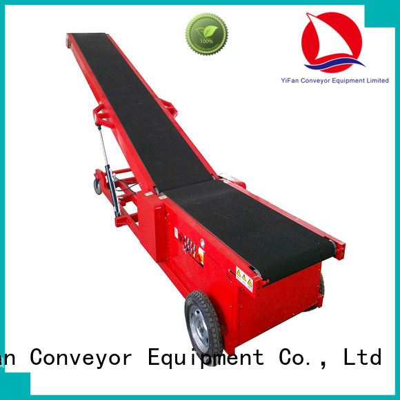 YiFan hot recommended conveyor system chinese manufacturer for dock