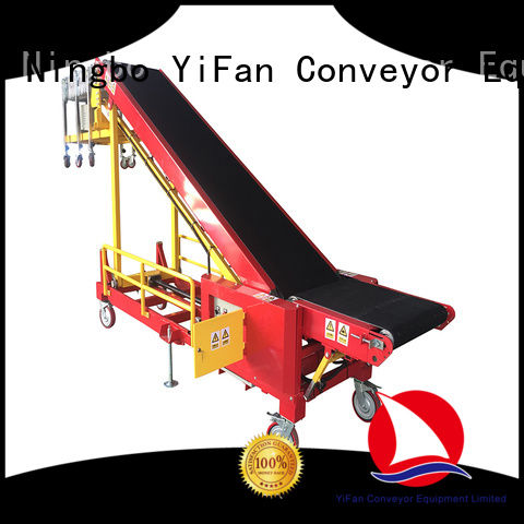 YiFan van truck unloading conveyor China supplier for factory
