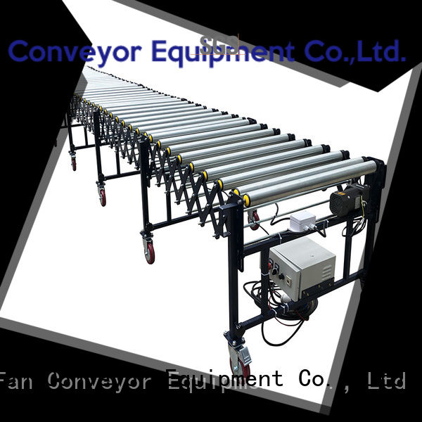 YiFan coated flexible gravity conveyor from China for harbor