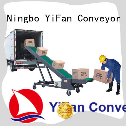 YiFan hot recommended truck loading conveyor online for airport