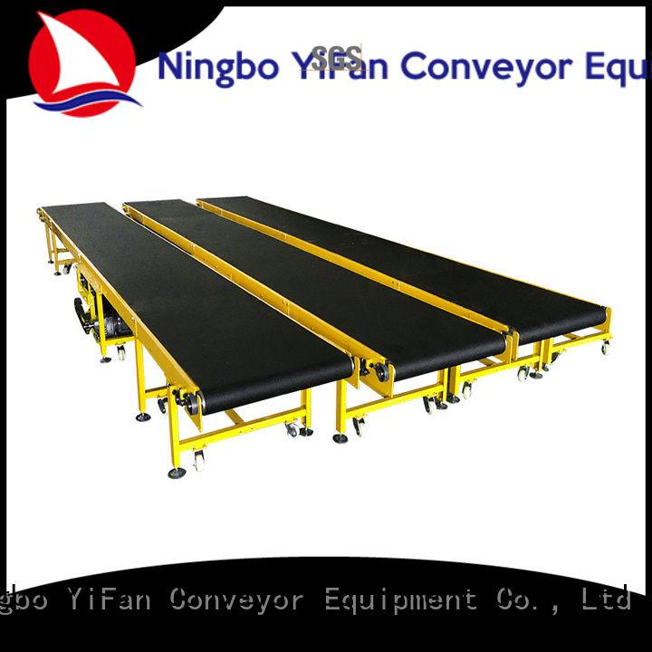 2019 new designed belt conveyor manufacturer grade with good reputation for logistics filed