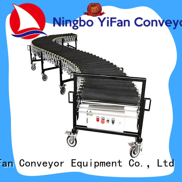 YiFan low cost powered flexible conveyor manufacturer for harbor