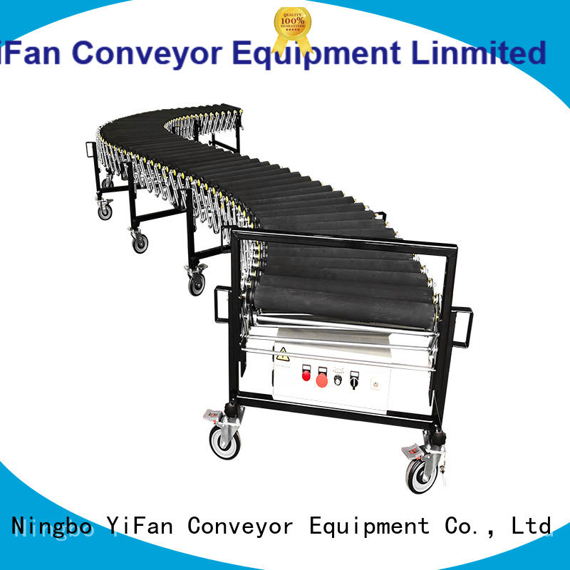 YiFan powered flexible conveyor manufacturer for harbor