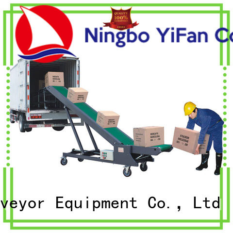 YiFan Professional truck loading conveyor systems online for dock