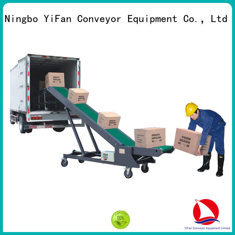 YiFan good conveyor truck manufacturer for dock