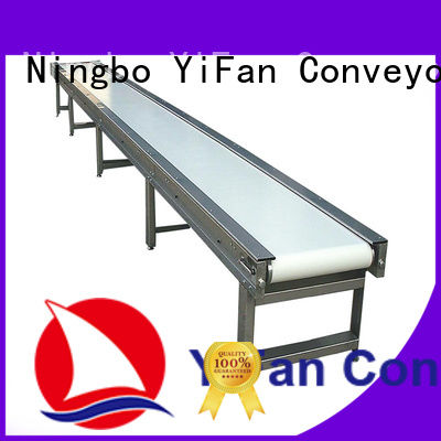 YiFan 2019 new designed conveyor belt suppliers with bottom price for daily chemical industry