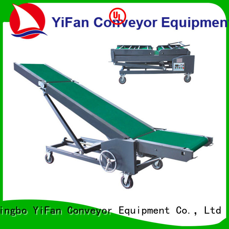 YiFan automatictrailer conveyor manufacturers company for warehouse