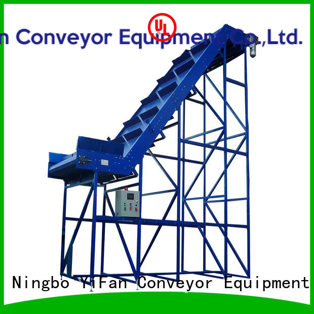 YiFan 2019 new designed industrial conveyor belt manufacturers for logistics filed