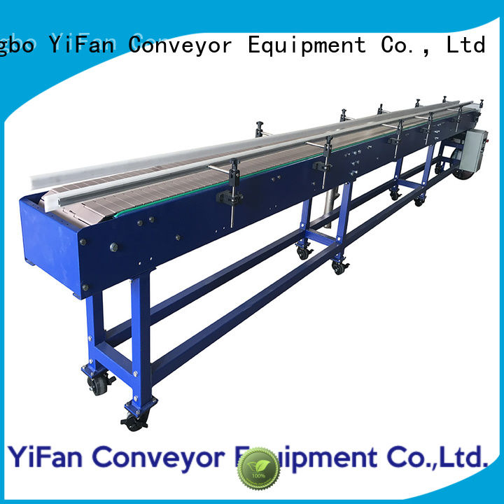 YiFan aluminum chain conveyors inquire now for food industry