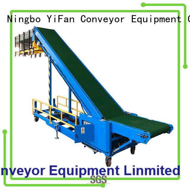 YiFan walking truck conveyor company for warehouse