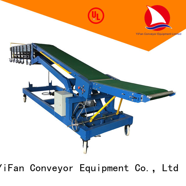 YiFan foldable loading conveyor China supplier for factory