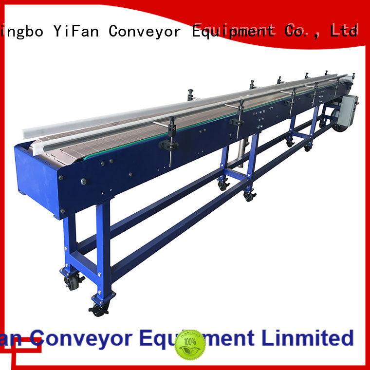 YiFan conveyor top chain conveyor top brand for beverage industry
