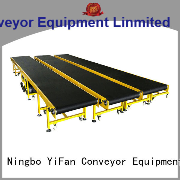 YiFan food belt conveyor for logistics filed