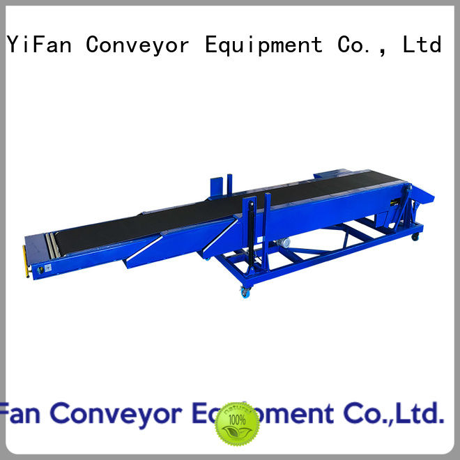 shop telescopic belt conveyor unloading with bottom price for storehouse