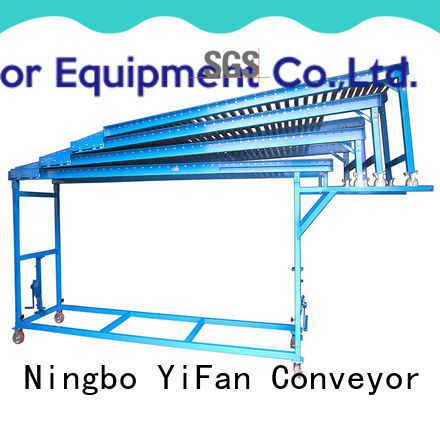 YiFan factory price gravity roller conveyor manufacturers export worldwide for harbor