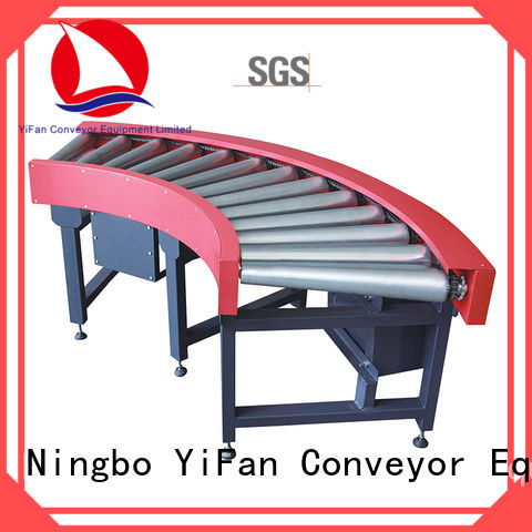 YiFan curve conveyor roller suppliers from China for industry