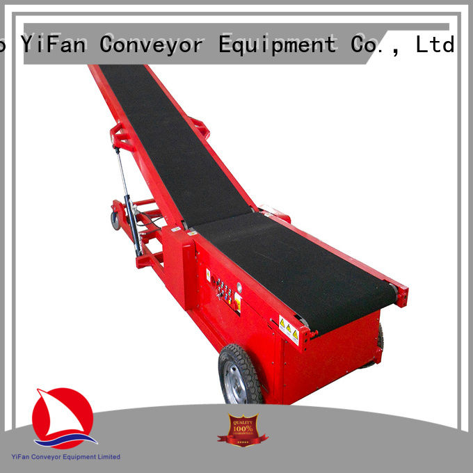 YiFan Professional truck unloading conveyor online for factory