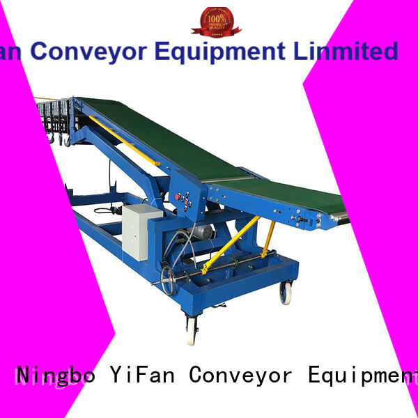 Professional conveyor truck container online for factory