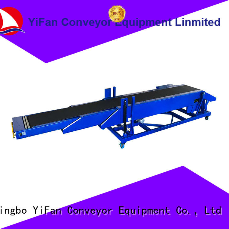 YiFan excellent quality telescopic belt conveyors widely use for harbor
