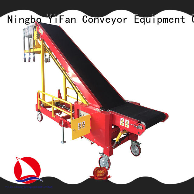 YiFan buy truck loading conveyor chinese manufacturer for dock