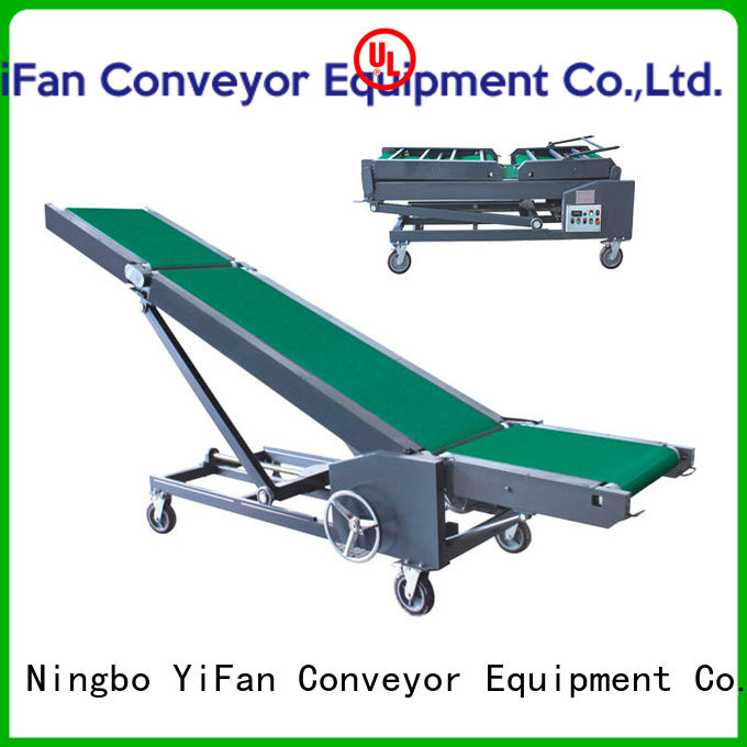 YiFan automatictrailer truck loading conveyors online for factory