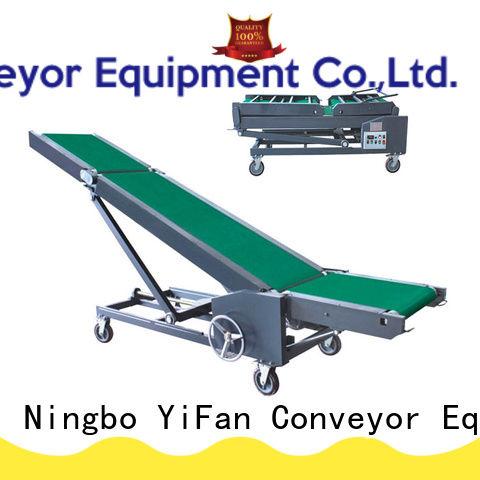 YiFan van truck loading belt conveyor manufacturer for factory