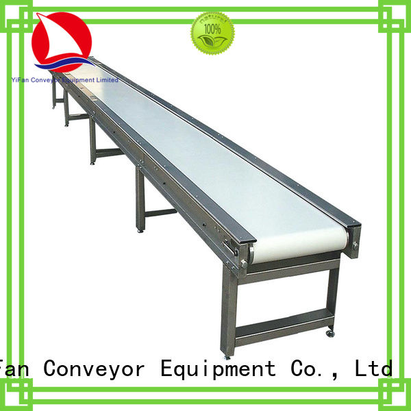 YiFan most popular industrial conveyor belt manufacturers with good reputation for food industry