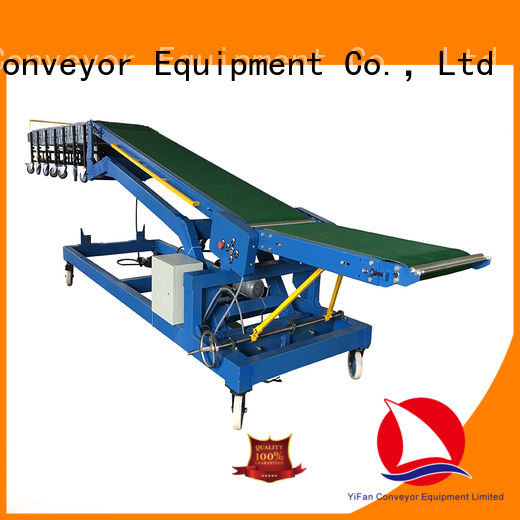 YiFan unloading truck conveyor manufacturer for airport